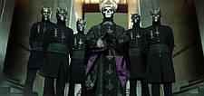 Маска музыкальной группы Ghost(Гоуст) взрослая латекс, резиновый шлем демона, фото 2