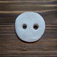 Пуговица средняя керамическая d=50мм  М128