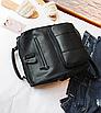 Рюкзак женский кожзам городской Practical черный, фото 5