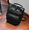 Рюкзак женский кожзам городской Practical черный, фото 2