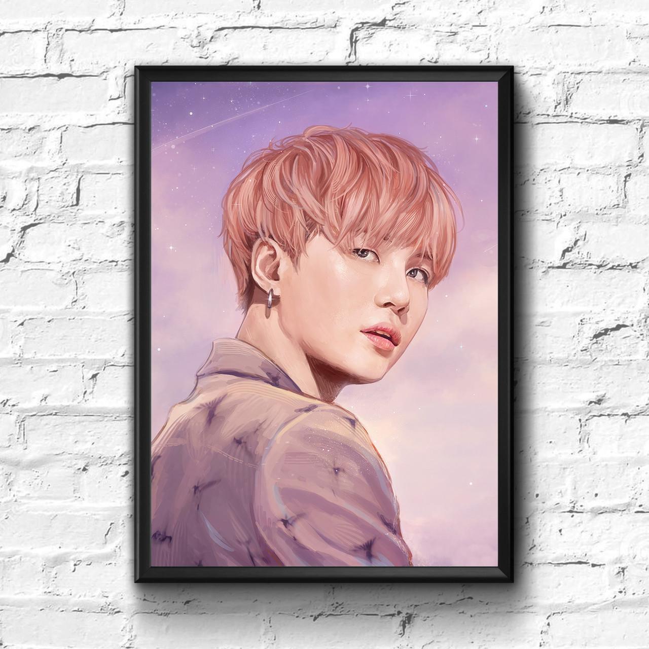 Постер с рамкой BTS #7