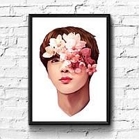 Постер с рамкой BTS #9