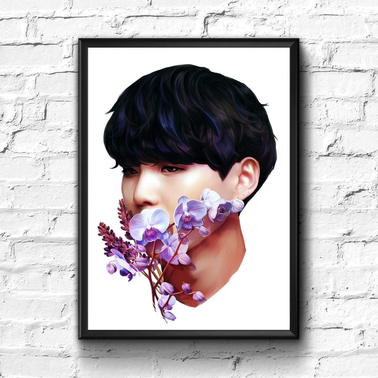Постер с рамкой BTS #11