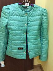 Короткая куртка Черепки с декоративной застежкой, фото 2