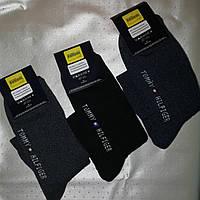 Махровые мужские носки Tommy Hilfiger (Турция) темные расцветки 15729c16955c4