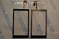 Оригинальный тачскрин / сенсор (сенсорное стекло) для HTC Desire 610 | D610t | D610n (черный цвет) + СКОТЧ