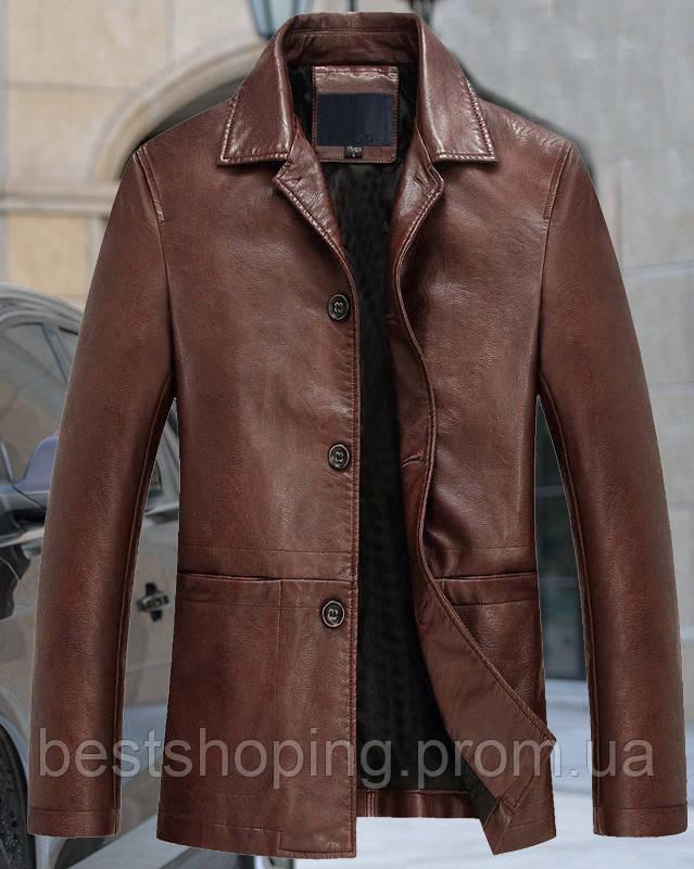 56b8cd78e0d Куртка кожаная мужская.Натуральная кожа. Турция.