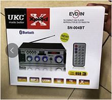 Усилитель звука AMP 004 BT пульт ДУ