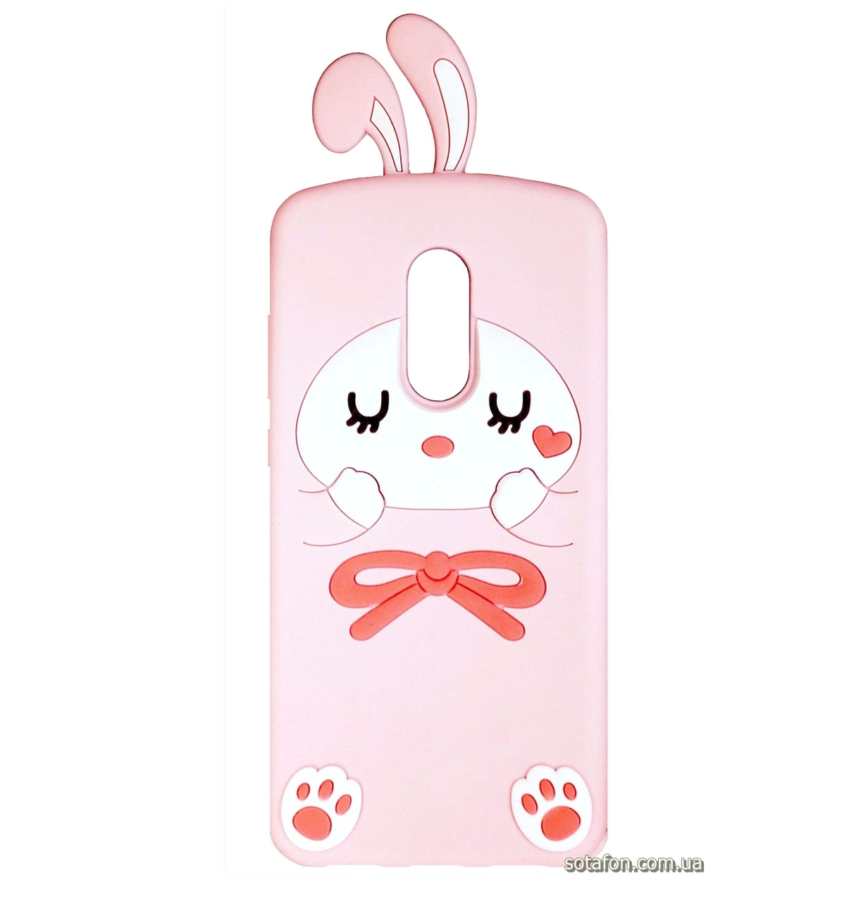 Чехол-накладка TPU Image Bunny для Xiaomi Redmi 5 Pink