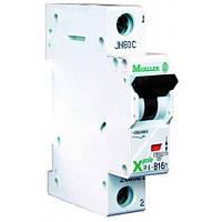 Автоматичний вимикач 1-полюс. PL4-C50/1 Moeller