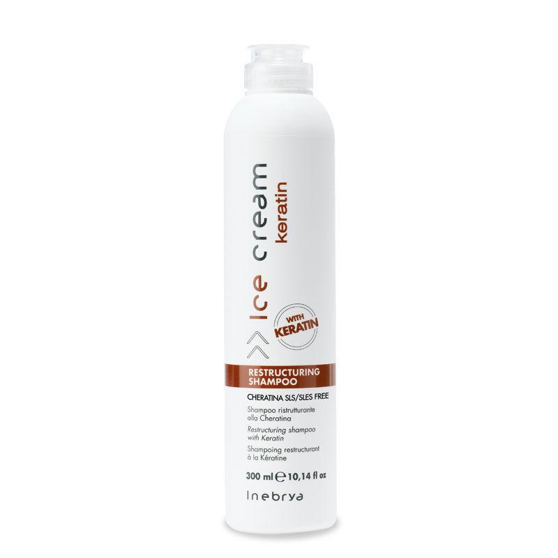 Відновлюючий шампунь з кератином Keratin Restructuring Shampoo 300 мл