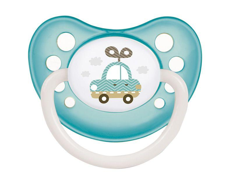 Пустышка силиконовая ортодонтическая 0-6 м-цев Toys