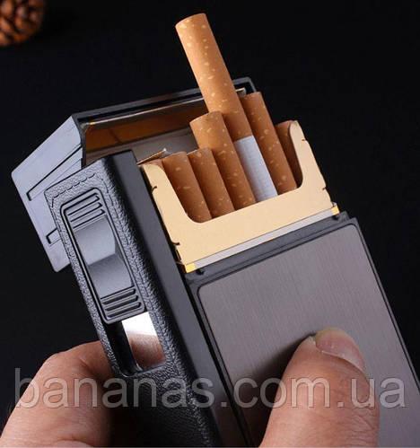 Купить портсигар мужской на 20 сигарет с зажигалкой недорого купить дрипки для электронной сигареты