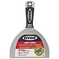 Профессиональный шпатель Hyde  из нержавеющей стали длина 152 мм