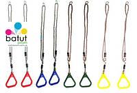 Кольца на веревках для детских площадок (2 штуки)