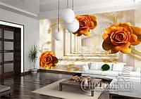 """Фотообои """"Оранжевые розы"""", фото 1"""