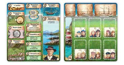 Настольная игра Нусфьорд (Nusfjord), фото 3