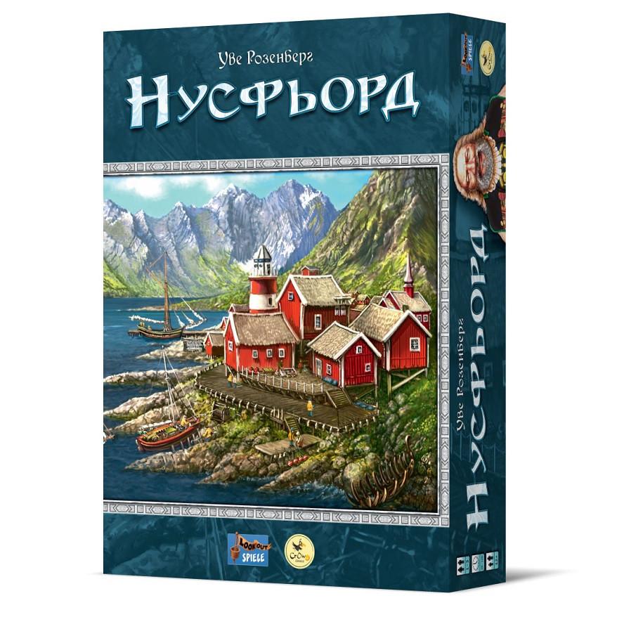 Настольная игра Нусфьорд (Nusfjord)