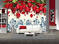 """Фотообои """"Красные розы"""", фото 1"""