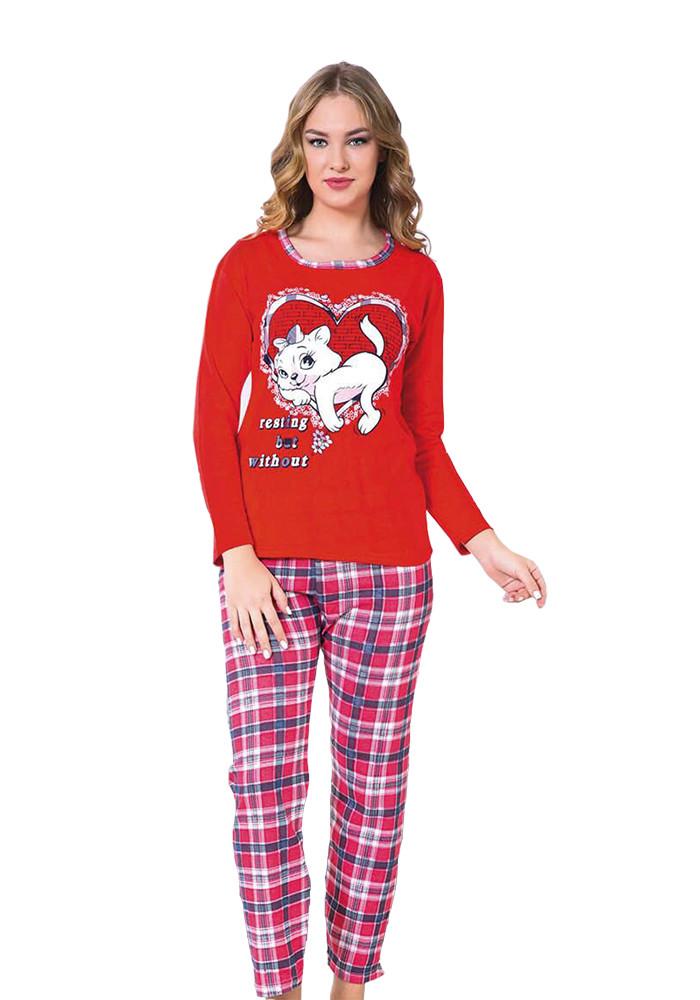 1ee01f43b8a74 Пижама женская тёплая — купить недорого в Харькове в интернет ...