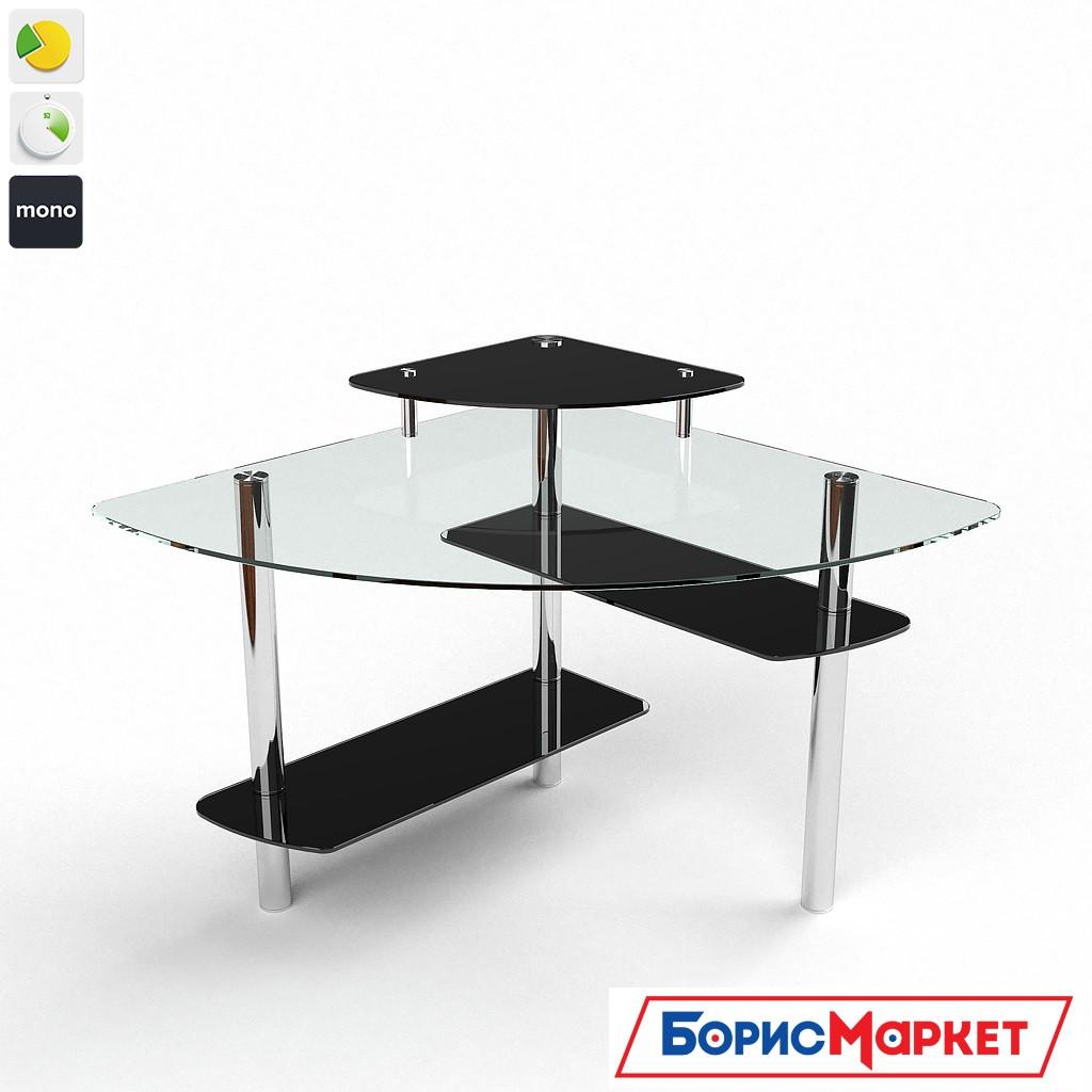 Компьютерный стол стекляный Фива от БЦ-Стол