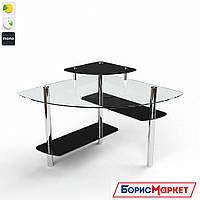Компьютерный стол стекляный Фива от БЦ-Стол, фото 1
