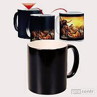 Чашка хамелеон. С вашим фото. (Уникальный подарок)