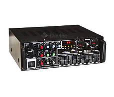 Усилитель звука UKC AV-326BT Bluetooth, эквалайзер, фото 2
