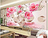 """Фотообои """"3D Розовые розы"""""""