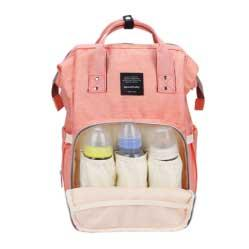 99fa25052159 Стильная сумка-рюкзак для мамы About Baby (розовый). Mummy Bag, baby ...
