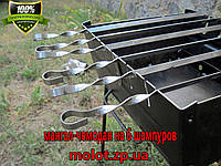 Мангал раскладной на 6 шампуров, фото 1