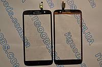 Тачскрин / сенсор (сенсорное стекло) для Lenovo A850 (черный цвет) + СКОТЧ В ПОДАРОК