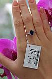 Кольцо из серебра 925 пробы с цирконами, фото 2