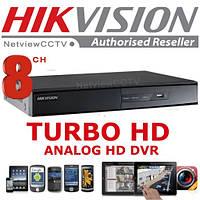 Видеорегистратор 8-канальный Turbo HD Hikvision DS-7208HGHI-SH