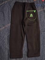 Спортивные штаны на байке для мальчиков Садик размеры: 86,92, 98, 104, 110