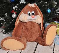 Мягкая игрушка заяц Несквик 50 см.