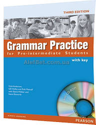 Английский язык / Grammar Practice / Coursebook+CD+Key. Учебник, Pre-Intermediate / Pearson