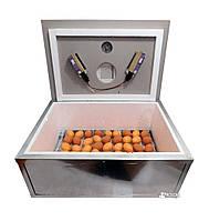 Инкубатор «Наседка ИБМ-70» на 70 яиц с механическим переворотом усиленный оцинкованный корпус
