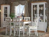 Їдальня 2 Марсель Мебус біла, фото 1