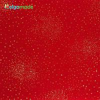 Фетр мягкий с напылением КРАСНЫЙ, 23x30 см, 1.3 мм, США, фото 1