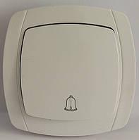LXL BETA WHITE Кнопка звонка (белый/крем)