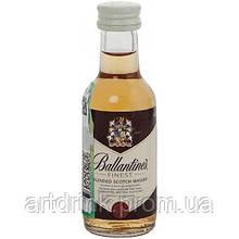 Виски Ballantine's Finest(Баллантайнс) 0,05L