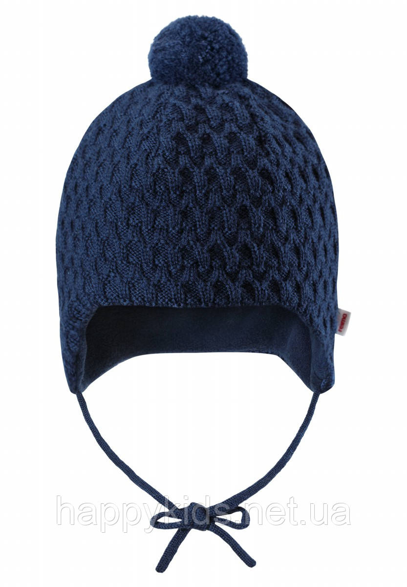 6ef47a163b88b Зимняя шапка-бини для мальчика Reima Lulla 518489-6980. Размеры 36/38,  40/42 и 44/46., цена 755,37 грн., купить в Днепре — Prom.ua (ID#858466777)