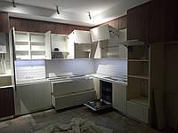Кухня с встроенным котлом и газовым счетчиком на заааз, фото 1