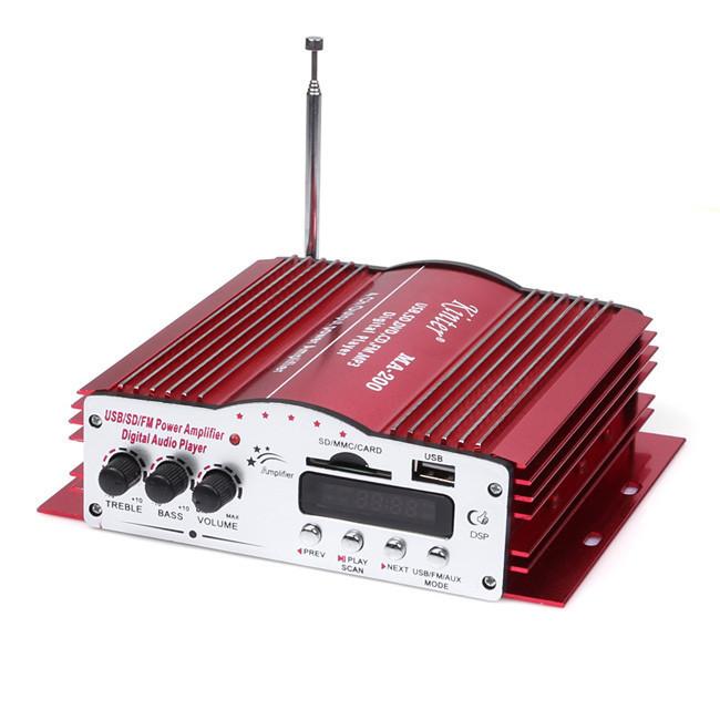 Усилитель мощности звука AMP MA 200 четырёхканальный