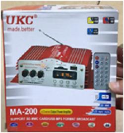 Усилитель мощности звука AMP MA 200 четырёхканальный, фото 2