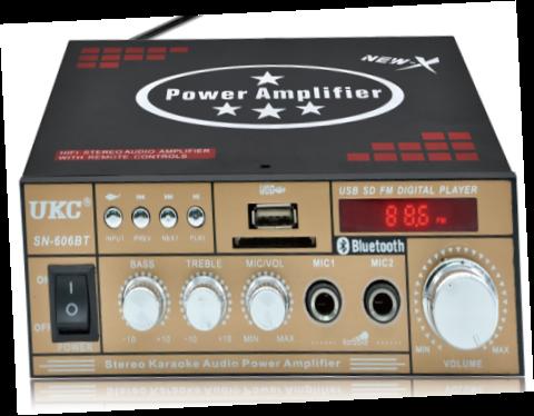 Усилитель звука AMP 606 BT