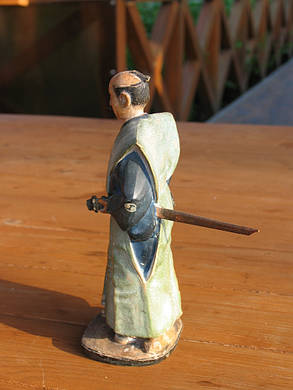 Статуэтка Самурай нач.ХХ века, период Мэйдзи-Тайсё, фото 2