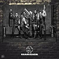 Постер Rammstein, Рамштайн, Тилль Линдеманн. Размер 60x42см (A2). Глянцевая бумага