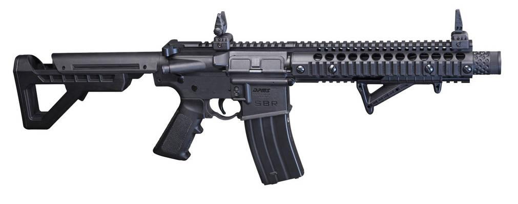 Пневматическая винтовка Crosman DPMS SBR Full Auto, фото 2